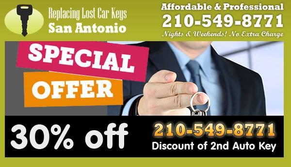 Replacing Lost Car Keys San Antonio Offer
