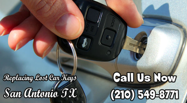 Replacing Lost Car Keys San Antonio